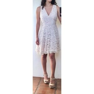 French Connection NWOT Lace A-Line Dress